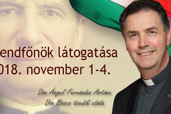November elején Magyarországra látogat a szalézi rendfőnök!