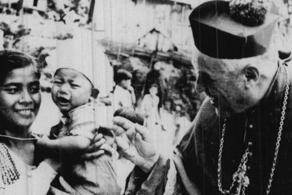 Stefano Ferrando szalézi püspök születésének 125. évfordulójára
